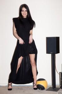 Cheyenne West dresses in black 2