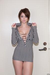 Emily Addison In Black and White 6
