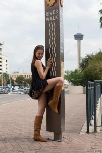 Jessica Marco On The River Walk 2